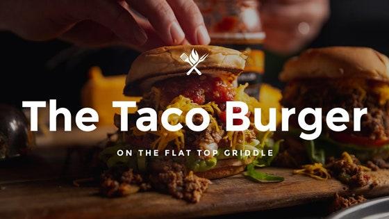The Taco Burger