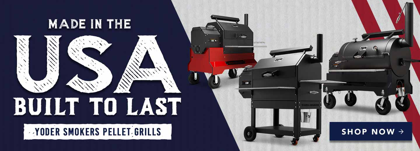 Yoder Pellet Grills Made in the USA