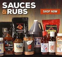 BBQ Sauces and Rubs